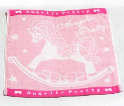 Angelic Pretty Novelty Rocking Horse Hand Towel