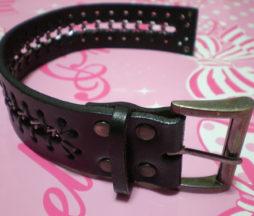 Black Peace Now Chain Cuff