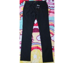 Black Peace Now for Men Flap Pocket Pants