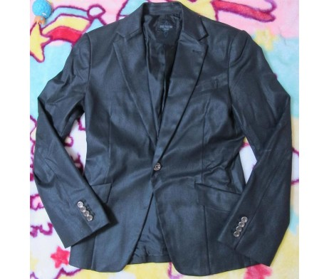 Black Peace Now for Men Waxed Cotton Jacket