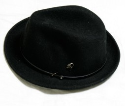 Gadget Grow Black Felt Hat