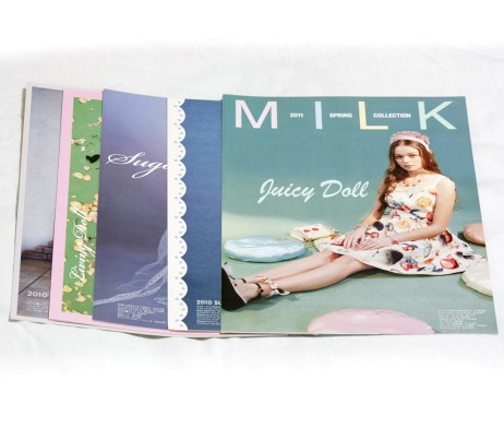 Milk Catalog Set
