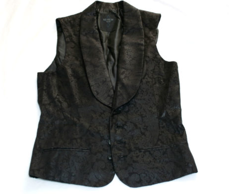 Black Peace Now Paisley Vest