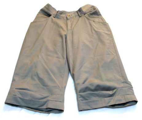 Gadget Grow Double Layered Drape Shorts