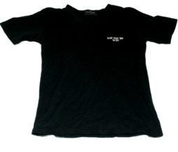 Black Peace Now Wing Print T-Shirt