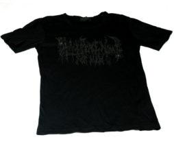 Black Peace Now Logo Print T-Shirt