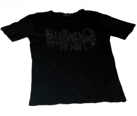Black Peace Now Logo Print T-Shirt