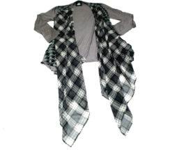 Mint Neko Japanese Fabric Drape Cardigan