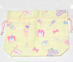 Angelic Pretty Dreamy Baby Room Drawstring Pouch