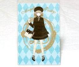 Angelic Pretty Royal Chocolate Postcard