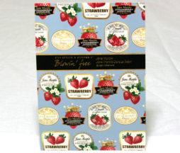 Jane Marple Strawberry Jam Label Oversize Postcard