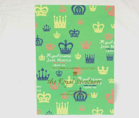 Jane Marple Royal Crown Oversize Postcard