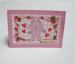 Baby the Stars Shine Bright Strawberries Usakumya Postcard