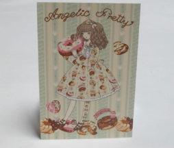 Angelic Pretty Melty Cream Donuts Postcard
