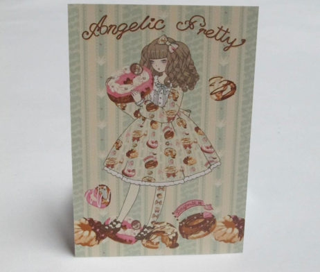 Angelic Pretty Melty Cream Donuts Postcard