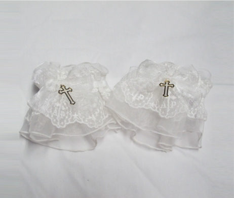Angelic Pretty Milky Cross Wristcuffs