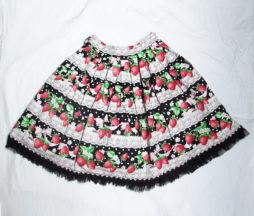 Angelic Pretty Strawberry Millefeuille Skirt