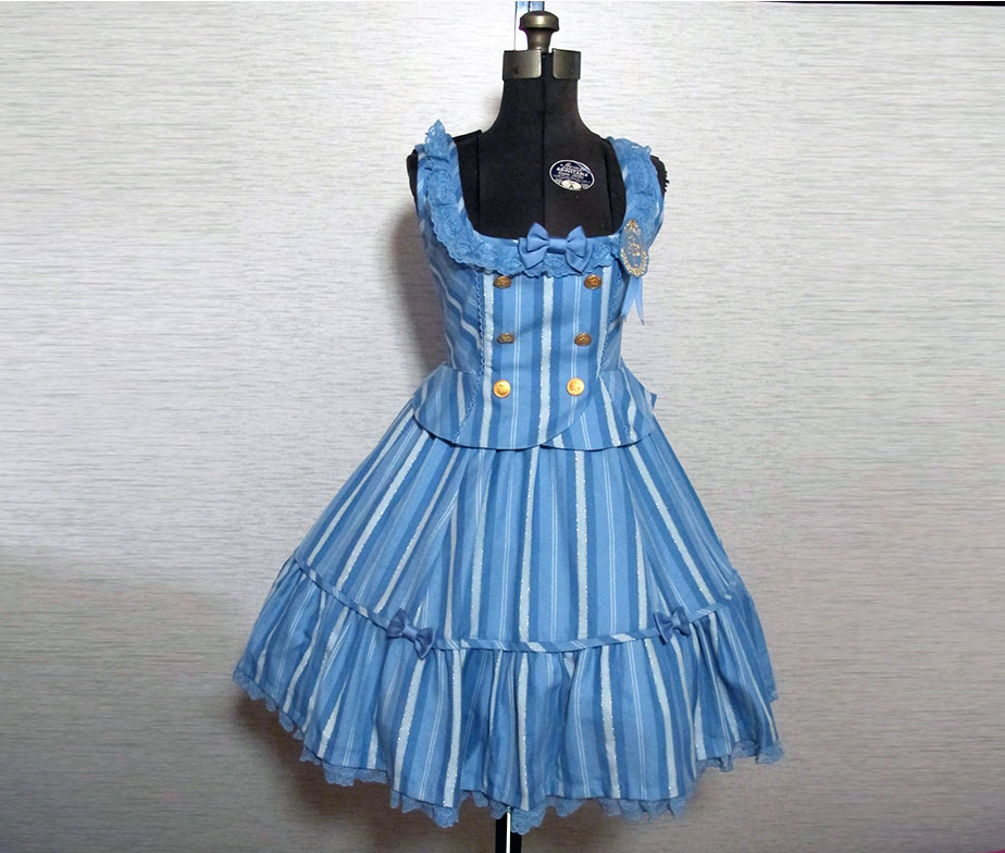 Angelic Pretty Brigitte Regimen Tiered JSK