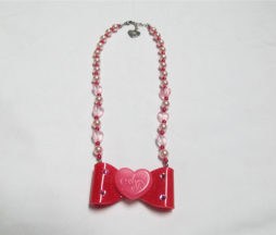 Angelic Pretty Drop Ribbon Necklace
