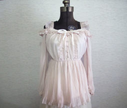 Liz Lisa Pleated Chiffon Blouse