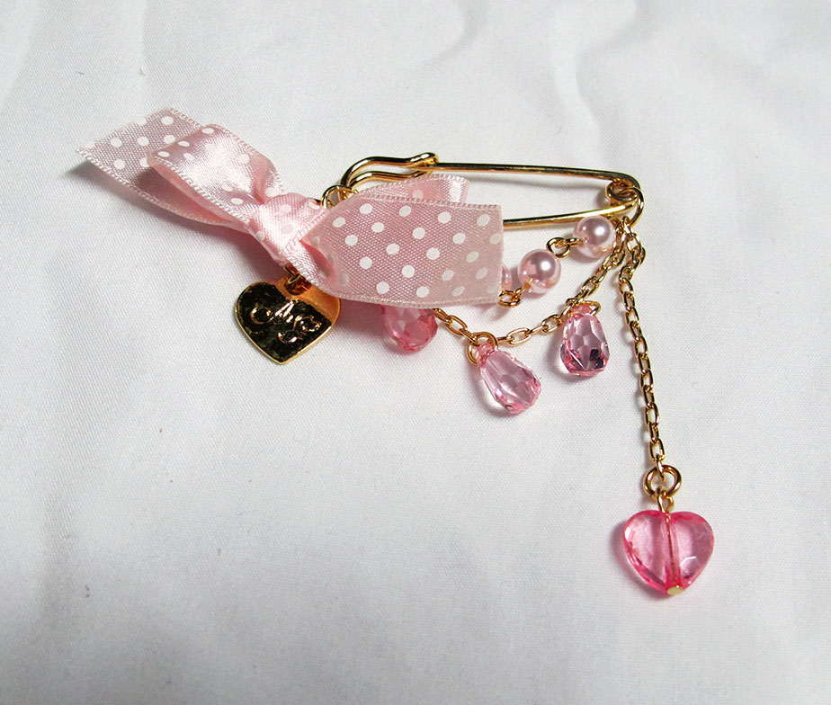 Angelic Pretty Logo Charm Brooch