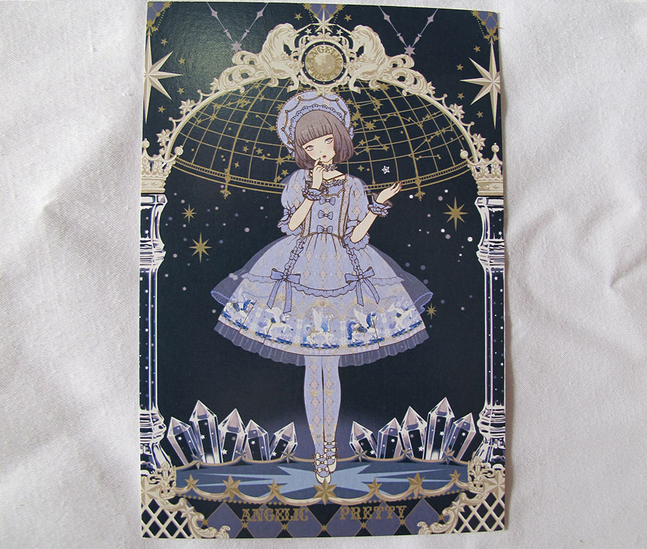 Angelic Pretty Imai Kira Crystal Dream Carnival Postcard