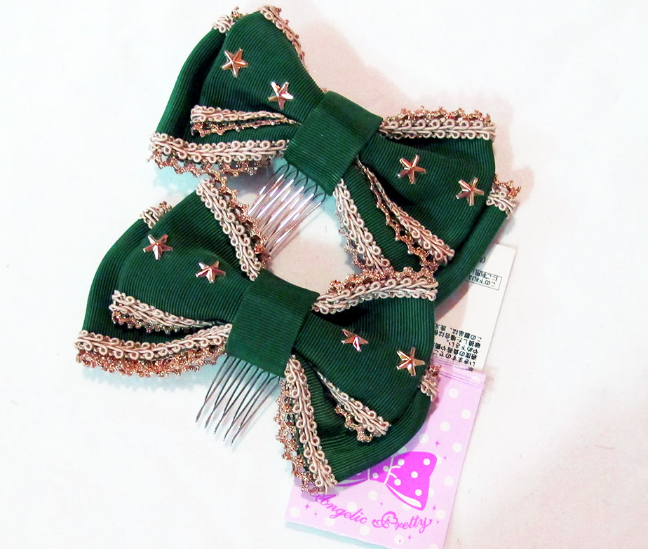 Angelic Pretty British Star Combs