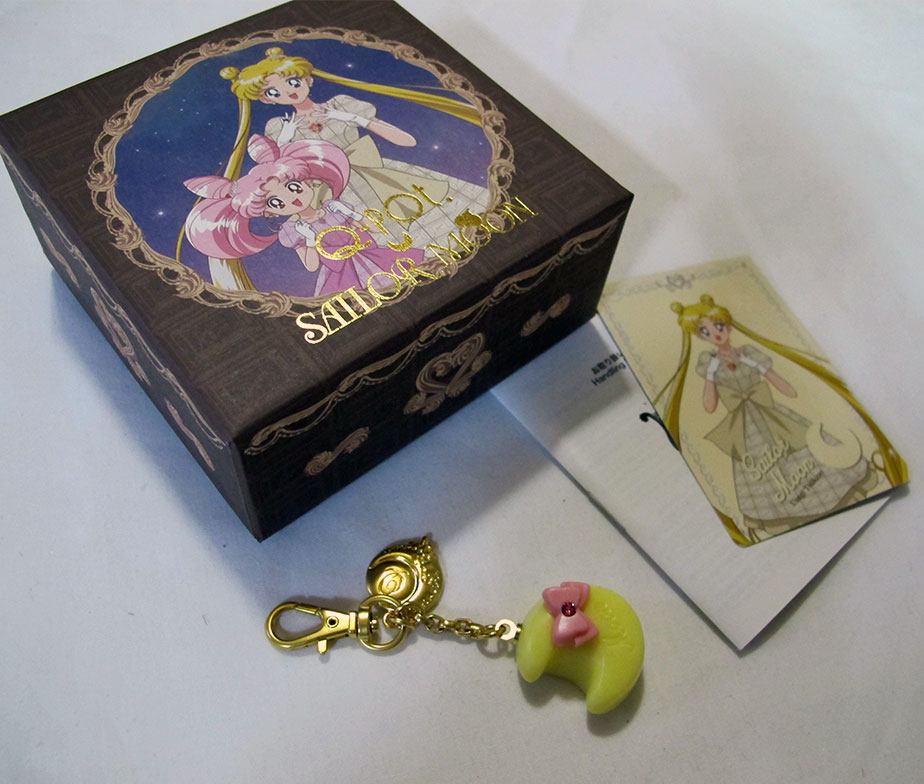 QPOT Sailor Moon Collaboration Sailor Pralie Bag Charm Sailor Moon Version (with Limited Card)