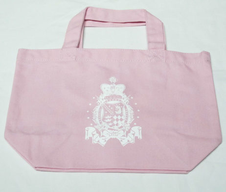 Angelic Pretty Pink Crest Logo Tote