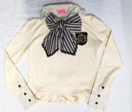 Angelic Pretty Vintage Stripe Bowtie Cutsew