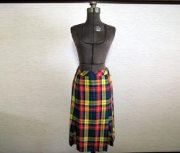 Jane Marple Dans Le Salon Tartan Skirt