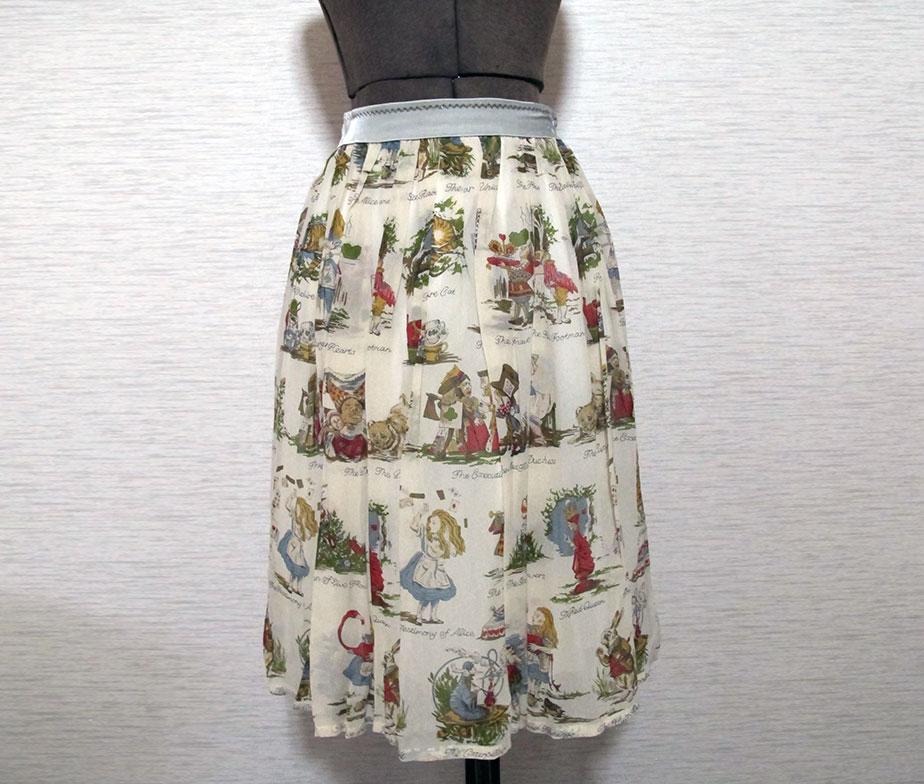Jane Marple Alice Print Long Skirt