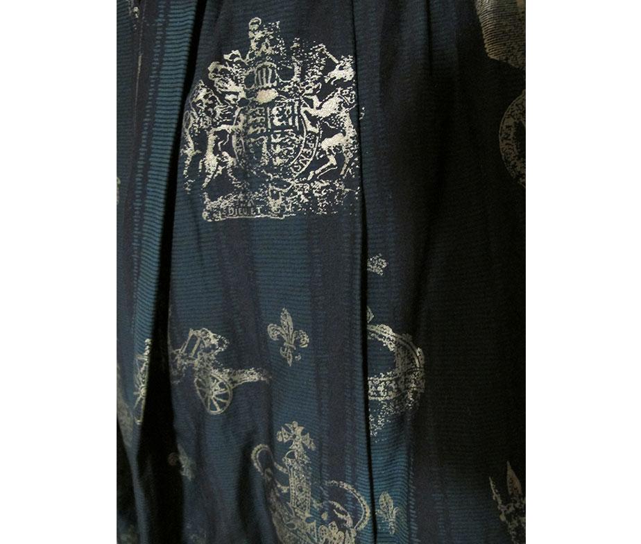 Jane Marple Royal Stripe Long Skirt