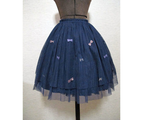 Swimmer Tulle Ribbon Skirt