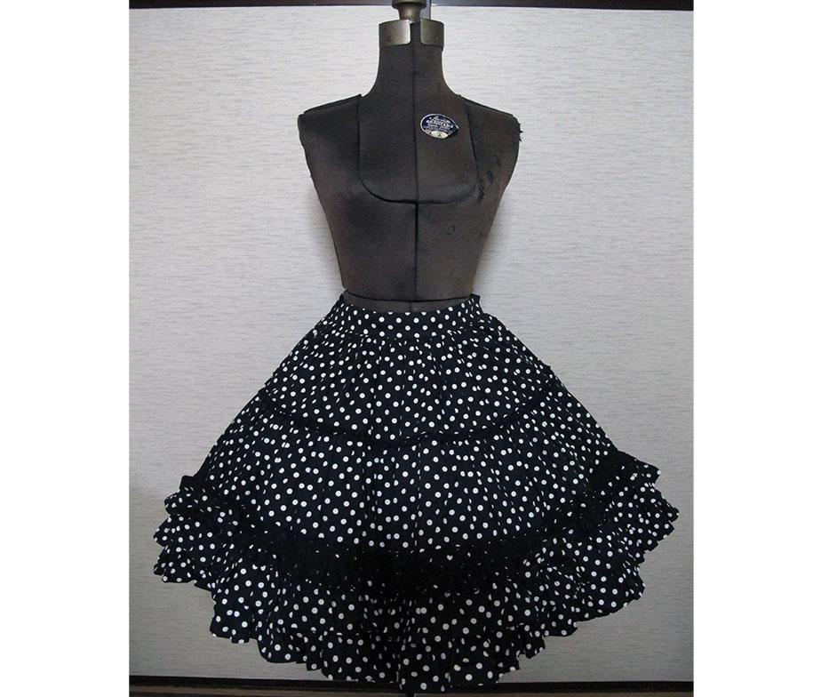 Angelic Pretty Pop Polka Dot Skirt
