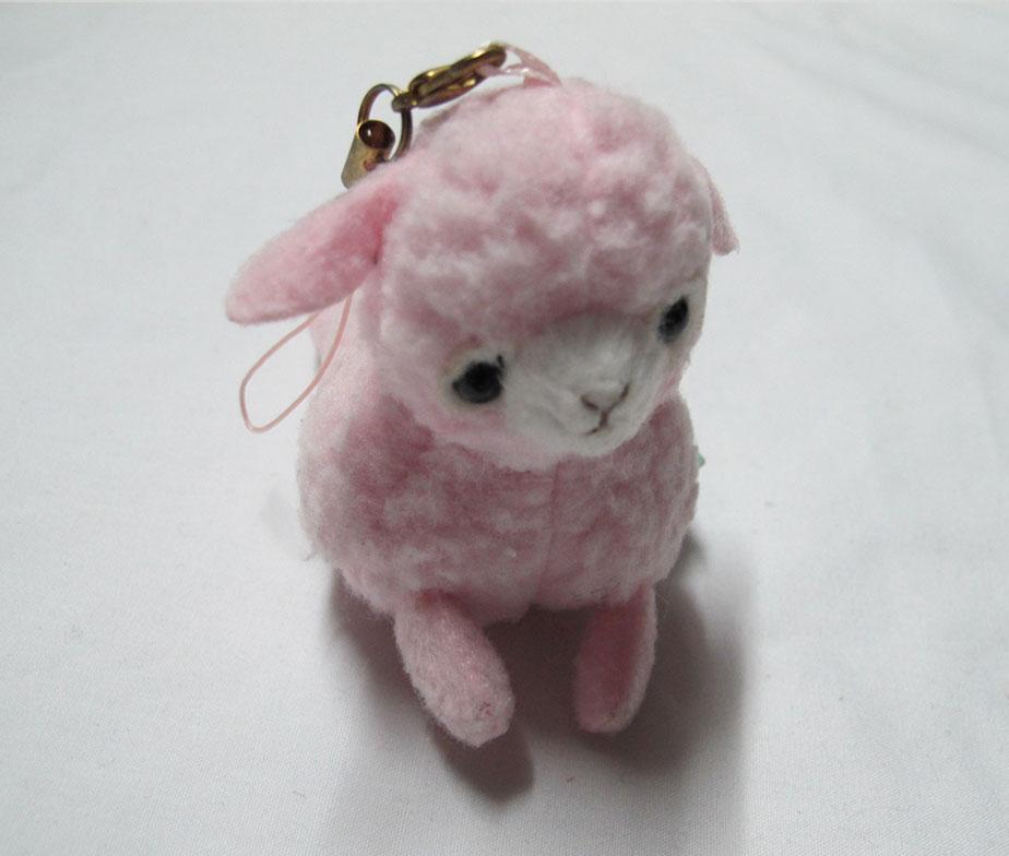Alpacasso Pink Alpaca Charm