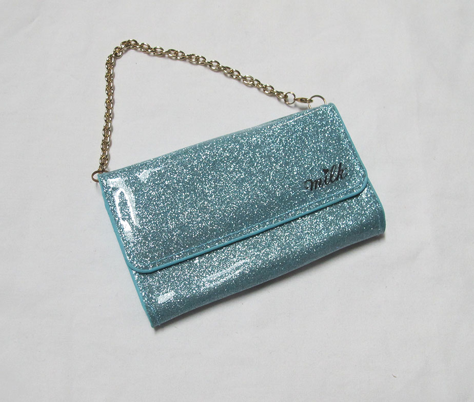 Milk Glitter Case Blue