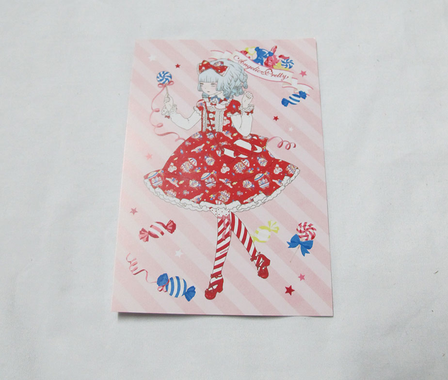 Angelic Pretty Candy Fun Fair Post Card