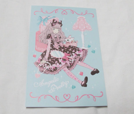 Angelic Pretty Milky-chan the Fawn Postcard
