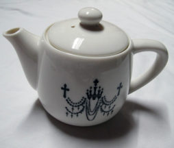 Black Peace Now Chandelier Tea Pot