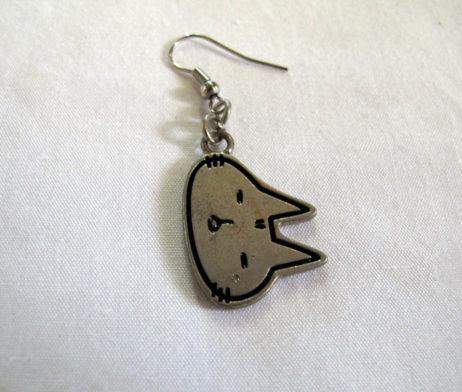 Mint Neko Cat Earring