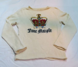 Jane Marple Crown Sweater
