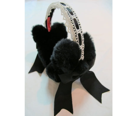 Baby the Stars Shine Bright Bunny Ear Muffs