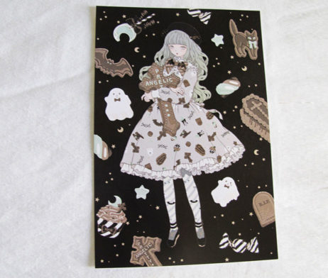 Angelic Pretty Imai Kira Halloween Treats Postcard
