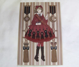 Angelic Pretty Imai Kira Rosette Collection Postcard