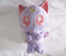Sanrio My Melody x Sailor Moon Collaboration Luna Plush