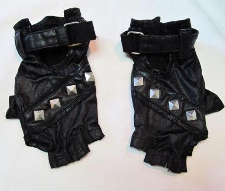 Sixh H. Naoto Fingerless Studded Gloves