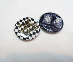 Alice and the Pirates Diamond Logo and Cock Robbin Mother Goose Pins Set