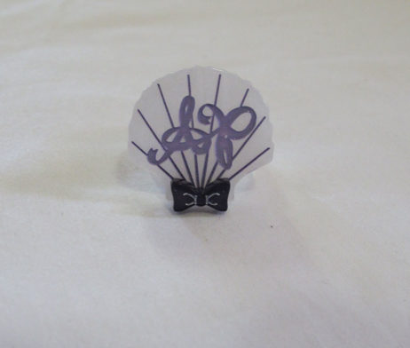 Angelic Pretty Shell Ring (Lavender)