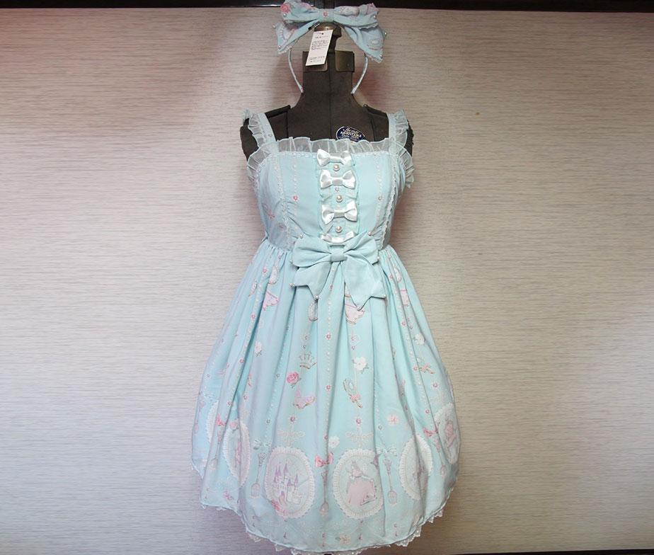 Angelic Pretty x Imai Kira Collaboration Princess Sucre JSK Set